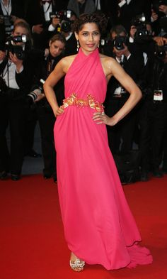 Freida Pinto In Gucci At The Cannes Film Festival 2013