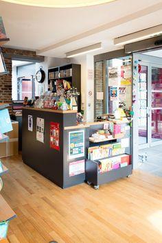 Pour pouvoir vous accueillir. #mobibook #librairie #welcome Liquor Cabinet, Storage, Furniture, Home Decor, Bookstores, Photo Galleries, Purse Storage, Decoration Home, Room Decor