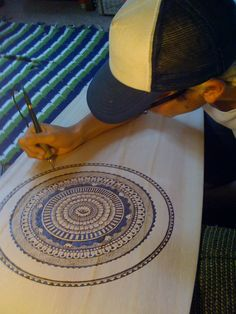 woodburn. hmm..mandala idea...nice KW- maybe for my craft table...doesn't have to be mandala