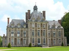 Château de Balleroy, Balleroy, Normandy, France. www.castlesandmanorhouses.com The fief of Balleroy, near the forest and abbey of Cerisy, was acquired in 1600 by Jean de Choisy, wine supplier to King Henri IV. The present...
