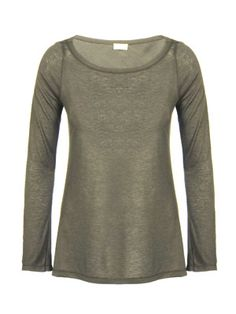 Italian Chic, Malene Birger, Basic Tops, Fun Prints, Just In Case, Olive Green, Collections, Sweaters, Mens Tops