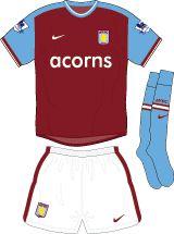 Aston Villa Football Kits Home Kit 2009-2010