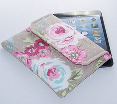 Ipad Mini Clutch Style Purse Shabby English by WhimsyWooDesigns, £17.50