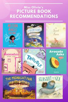 """Check out our favorite new picture books! These excellent titles are excellent for reading aloud in the library, at home, or classroom. Find more book recommendations for kids by checking out the """"Reading Recommendations"""" playlist on our Facebook page! Reading Aloud, Toddler Books, The Make, Kindergarten Classroom, Reading Skills, Picture Books, Book Recommendations, Teacher Resources, New Pictures"""