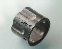 44 Caliber Gun Chamber Ring by Blue Bayer Design