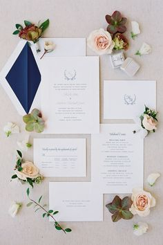 This white wedding stationery with blue and pink accents was featured in a real wedding from California on The Knot. Like what you see? View the full wedding album and get more pastel summer wedding ideas. Personalize your wedding and put a spin on tradition with The Knot's customizable wedding websites, wedding invitations, registry (and more!). Not sure where to start? Get ideas and advice from our editors on everything from wedding colors and venue types to all things guest.