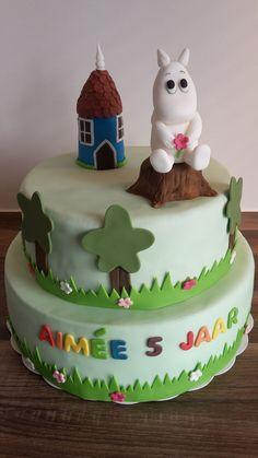 Moomin taart / Moomin cake