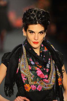 Der Beauty-Look bei Lena Hoschek © Getty Images