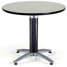 Mayline Napoli Series Circular Conference Table Finish Mahogany - Napoli conference table