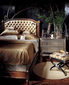 Karges Furniture - silver side table