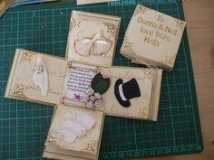 wedding exploding box - Main Image