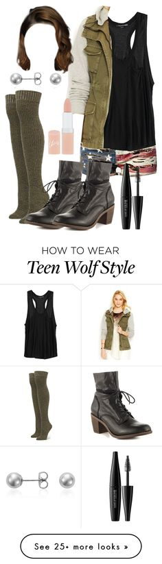 """Malia Tate 5x09 ""Lies of Omission"" Outfit"" by lili-c on Polyvore featuring Denim & Supply by Ralph Lauren, Alexander Wang, Rachel Rachel Roy, Stance, Rimmel, MAKE UP FOR EVER, Blue Nile and Steve Madden"