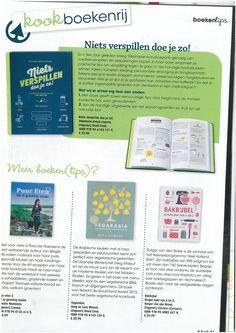 """Twee Good Cook-boeken te vinden in het Kook-magazine van supermarkt Spar >> """"Niets verspillen doe je zo!"""" - Stéphanie Araud-Laporte - Uitgeverij Good Cook - 215 pag. - €22,50 - ISBN 9789461431219 & """"Vegabaria"""" - Greg & Lucy Malouf - Uitgeverij Good Cook - 272 pag. - €29,95 - ISBN 9789461431240"""