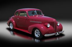 1939 Chevy Opera Coupe Custom. All Steel.