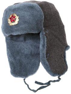 Authentic Russian Army Ushanka Winter Hat-58  350ab0cb94af