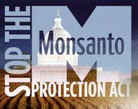 Obama Can't Fix Congress' Monsanto Giveaway with an Executive Order