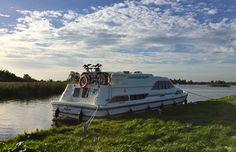 Mit dem Hausboot in Friesland unterwegs