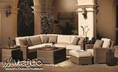 Sofa Rotan Sintetis sangat pas dan juga tepat untuk kamu pilih sebagai furniture di rumah anda