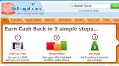 Sign up with Be Frugal to start earning cash.  http://www.befrugal.com/cashback/?ref=VSETFBH