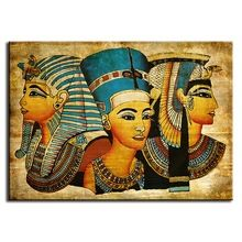 New Arrival Pharaoh Of Egypt Unframed Home Decoration Paintings Modern Abstract Wall Painting,Free Shipping(China (Mainland))