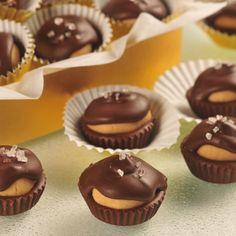 Dark Chocolate Peanut Butter Candies