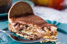torta de biscoito maria com ganashe de chocolate e doce de leite