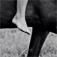 Riding bareback and barefoot. It's the one activity I miss the most from childhood. Great memories...