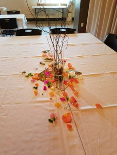 Colorfully rustic centerpiece! #artisticbloom