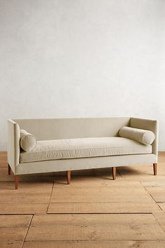 Slide View: 1: Velvet Harper Sofa