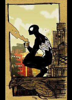 Spiderman VS Sandman 2009 by on DeviantArt Marvel Comics Art, Marvel Heroes, Marvel Characters, Hulk Marvel, All Spiderman, Amazing Spiderman, Comic Books Art, Comic Art, Vintage Comics