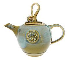 Colm De Ris Emerald Tea Pot