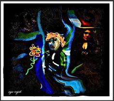 لوحة للفنانة التشكيلية الفلسطينية اية رجب 106
