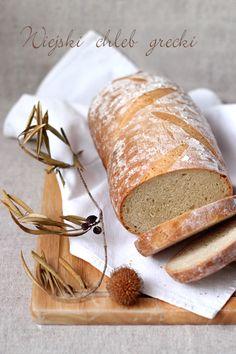 wiejski chleb grecki Savoury Baking, Bread Baking, Greek Bread, Greece Food, Bread Shop, Greek Sweets, Arabic Dessert, Joy Of Cooking, Just Eat It