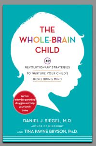 "Outlines twelve key strategies for fostering healthy brain development in children to promote a calm and happy outlook, explaining how challenging child behaviors are rooted in immature left and right brain coordination and how parents can make informed adjustments to enable positive learning experiences. ""The whole-brain child"" by Daniel Siegel (649.1019 Sie)"