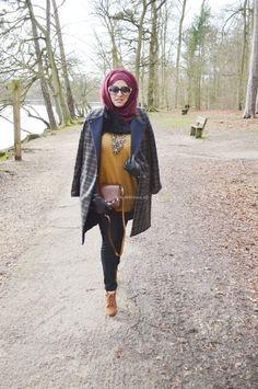 Use a hijab to play with seasonality.