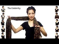 Come indossare una Pashmina - www.OriginalSurprise.eu - YouTube