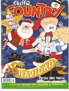 Casita Country nº24 - Navidad - Polixenia - Picasa Web Albums... A FREE MAGAZINE AND PATTERNS!!