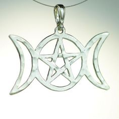 moon goddes pendant