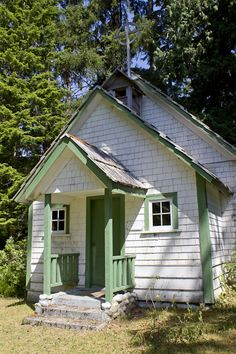 St. Olaf Anglican Church, the oldest building on north Vancouver Island is located in Quatsino. It was built in 1897.
