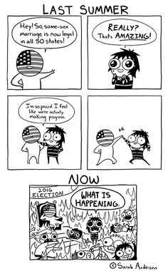 Anybody who's familiar with the comics of Sarah Andersen will know how perfectly they summarize the daily struggles of modern life, especially when it comes to Funny Shit, The Funny, Funny Memes, Hilarious, Funny Stuff, Funny Things, Random Stuff, Funny Qoutes, Random Humor