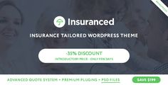 Insuranced v1.0.0 – Insurance WordPress Theme