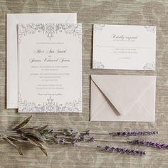 Wrought Iron Gate Invitation Charleston Gates Wedding Invite - shop greeting cards, handmade stationery, & wedding invitations by dodeline design
