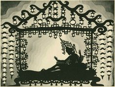 Lotte Reiniger's Prince Achmed Silhouette Animation