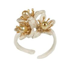 Orange Blossom Ring by Michael Michaud