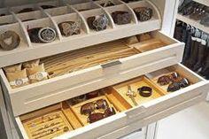 Wardrobe interior - jewelry drawer