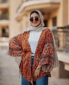 Hijab Fashion Summer, Korean Fashion Dress, Muslim Fashion, Fashion Outfits, Casual Summer Outfits, Simple Outfits, Niqab, Hijab Fashionista, Hijab Fashion Inspiration