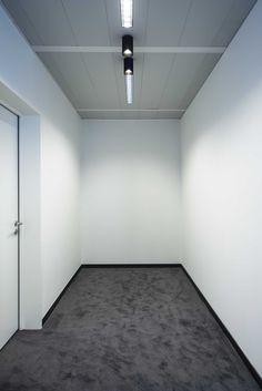 BACARDI BELGIUM #new headquarters DARK® #lighting #office #project at Vilvoorde BE [www.bacardi-martini.be] Office Lighting, Lighting Ideas, Bacardi, Light Project, Light In The Dark, Ceiling Fan, Cool Stuff, Martini, Belgium