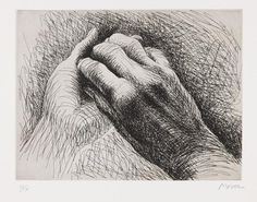 Henry Moore sketch. What a light touch. Beautiful.