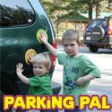 Parking Pal Car Safety Magnet-gives child a place to safely stand while waiting next to car.
