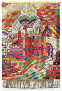 All sizes | Gunta Stolzl Bauhaus weaving | Flickr - Photo Sharing!